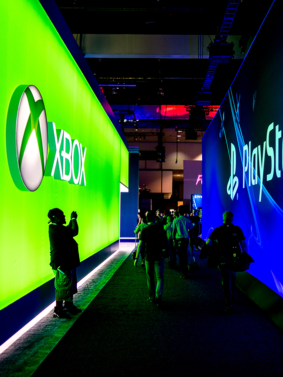 E3 - Electronic Entertainment Expo.