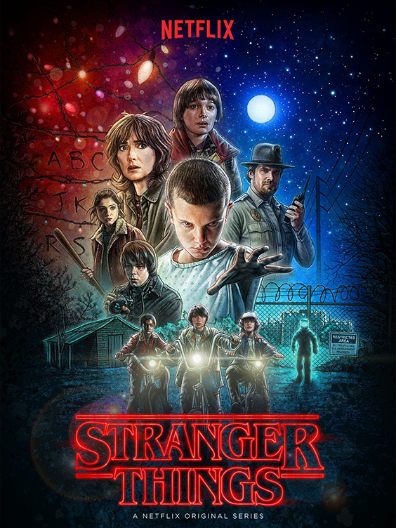 Watch Stranger Things on Netflix